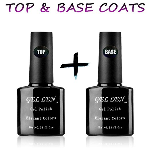 Gellen Base Coat Top Coat Review