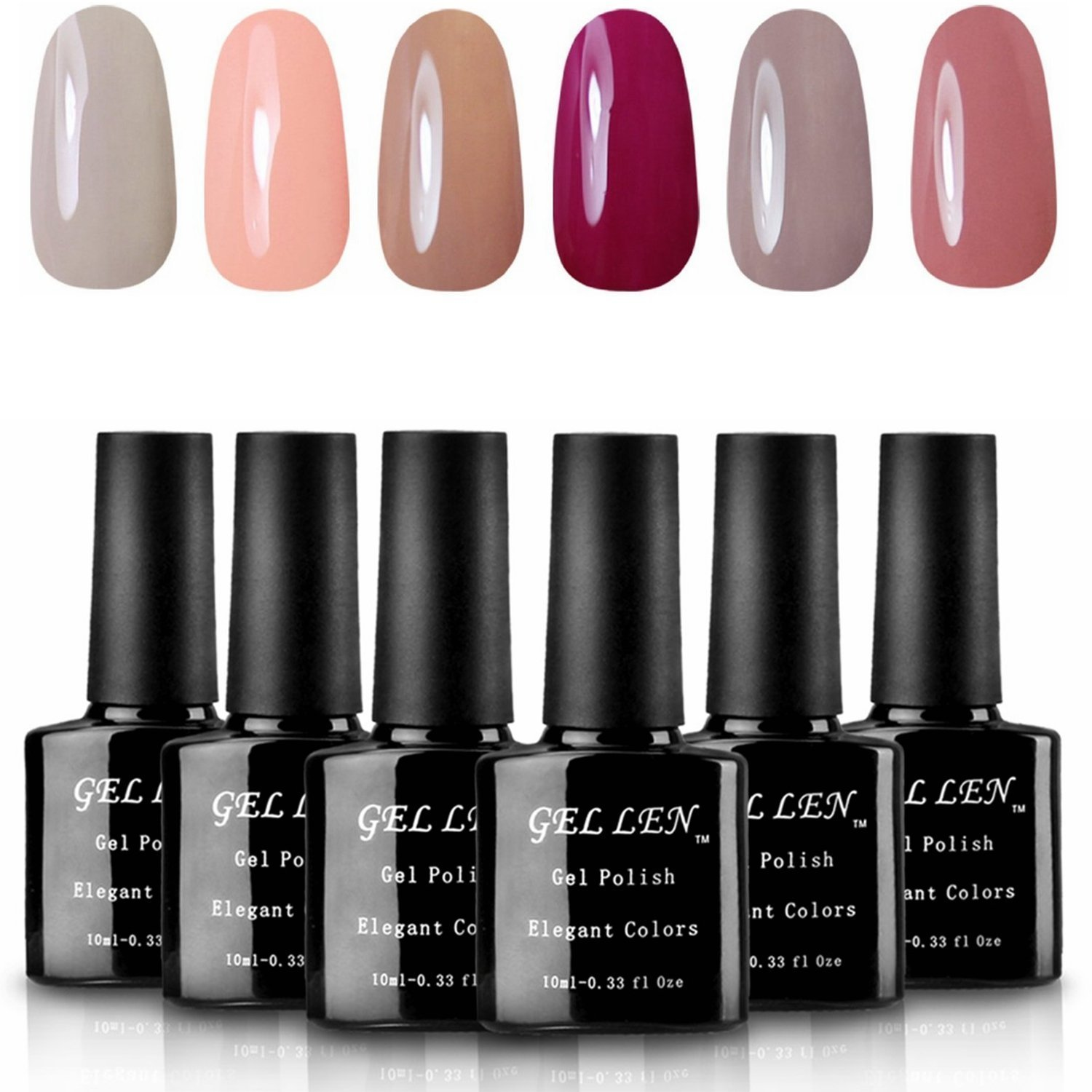 Gellen Soak Off UV LED Gel Nail Polish