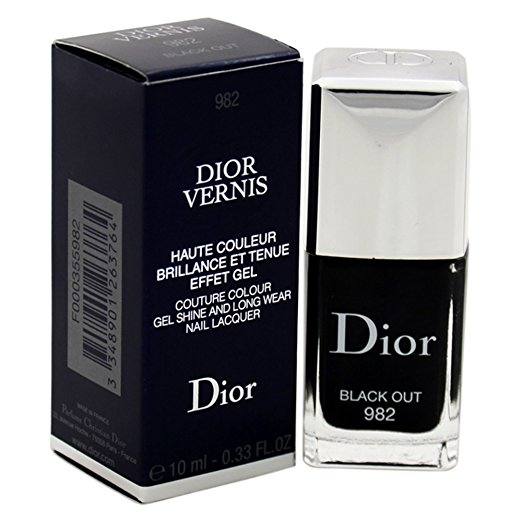 Christian Dior Vernis Couture Black Gel
