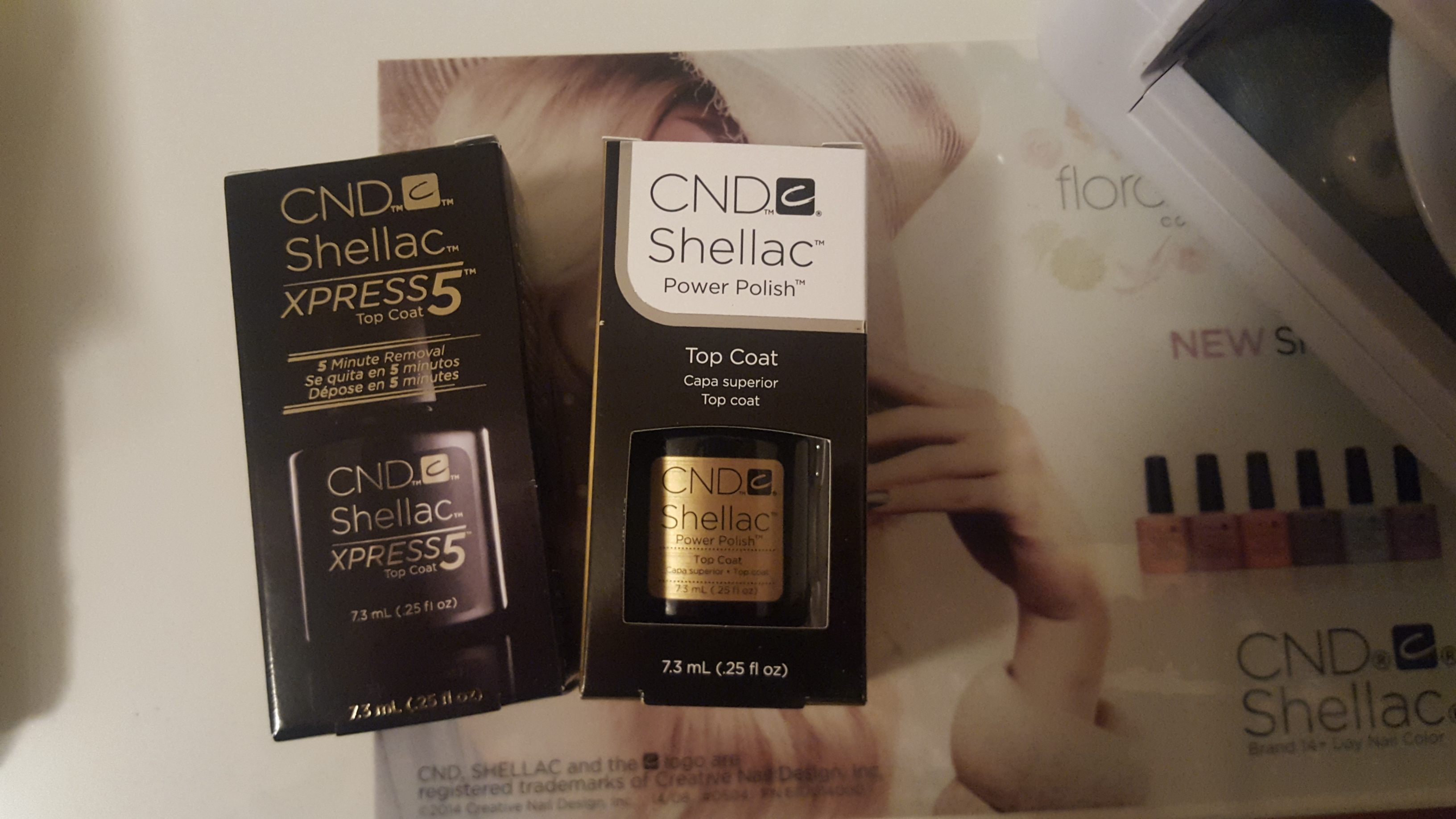 CND shellac nail polish brands
