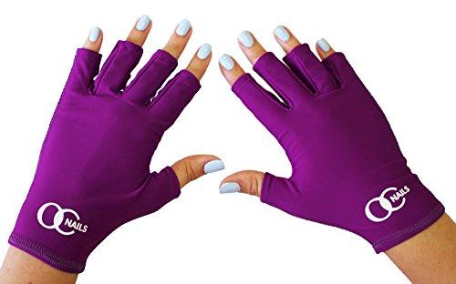 UV nail lamp protection gloves