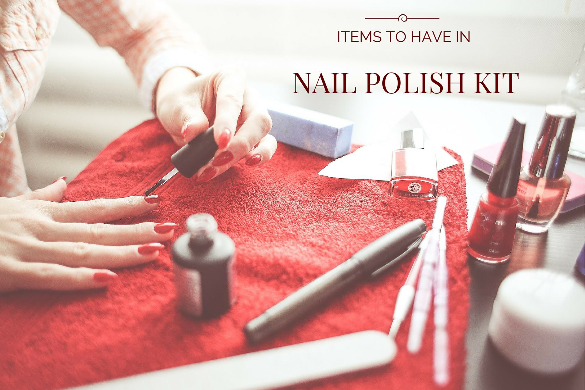 make shellac nail polish kit