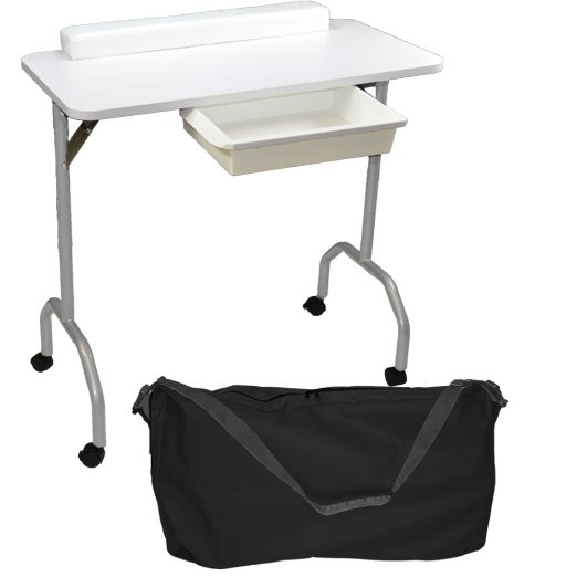 Portable nail table with extractor fan nail ftempo for Manicure table with extractor fan