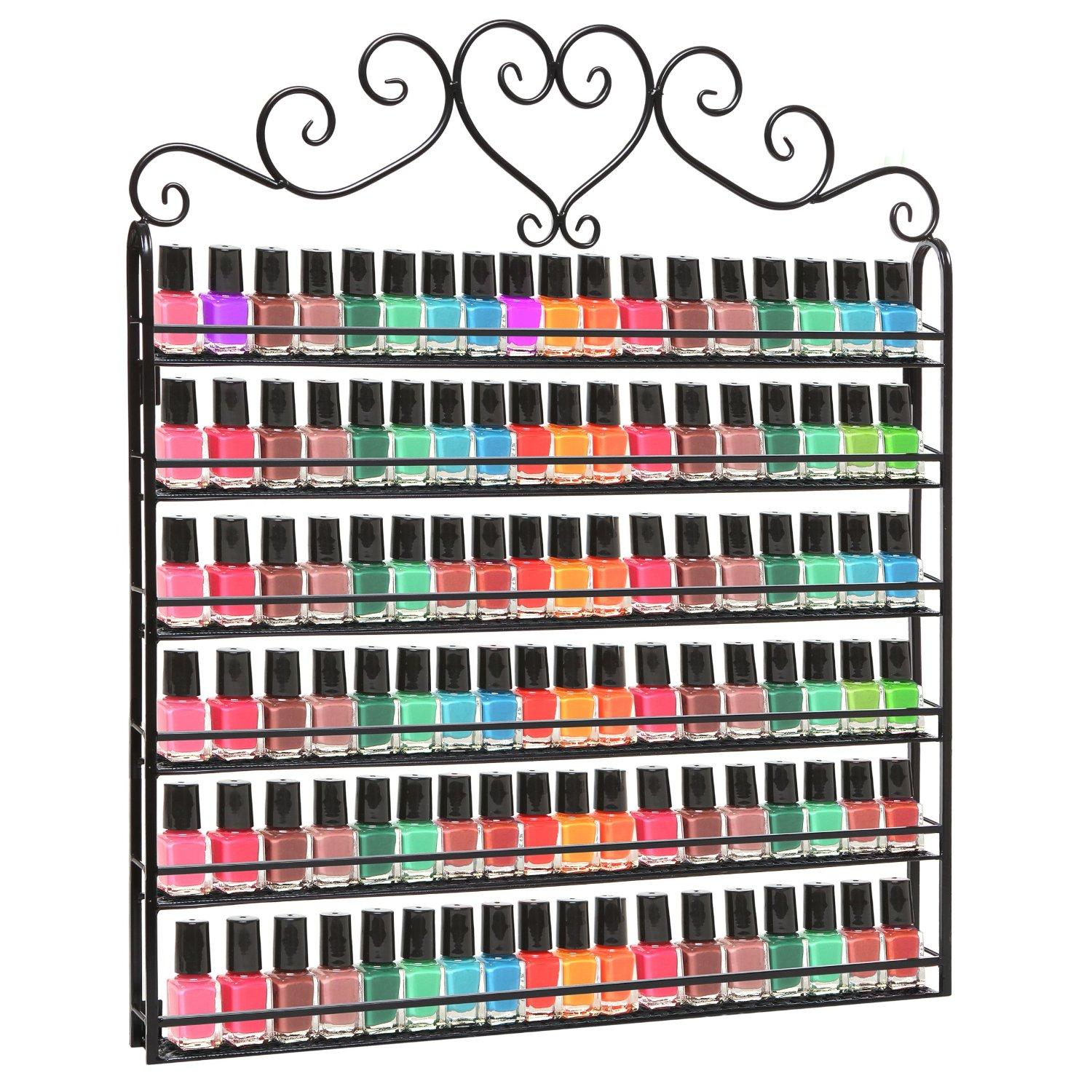 best nail polish racks mountable