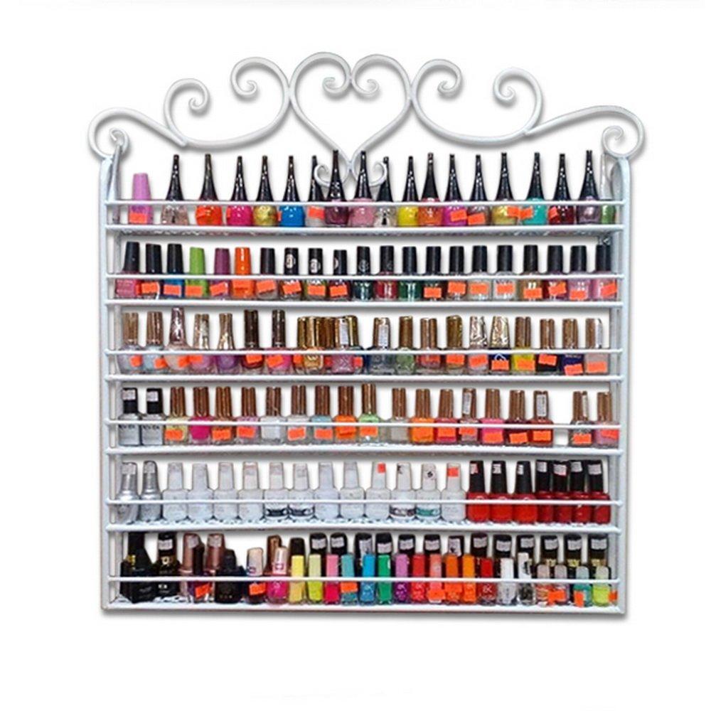 mount nail polish organizer