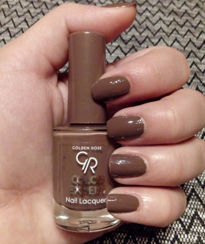 Golden Rose Nail Polish Dark Brown