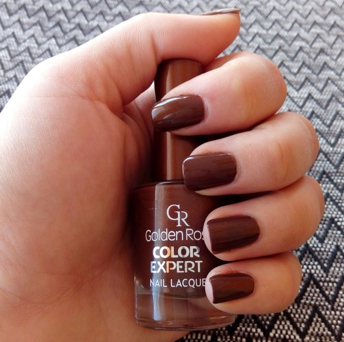 Golden Rose Dark Brown 74 Nail Polish