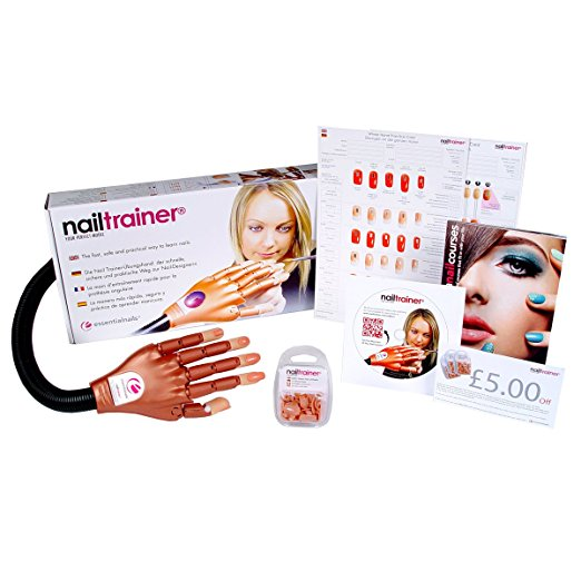 Nail Trainer Practice Hand Kit