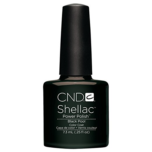 Creative Nail Shellac Black Pool