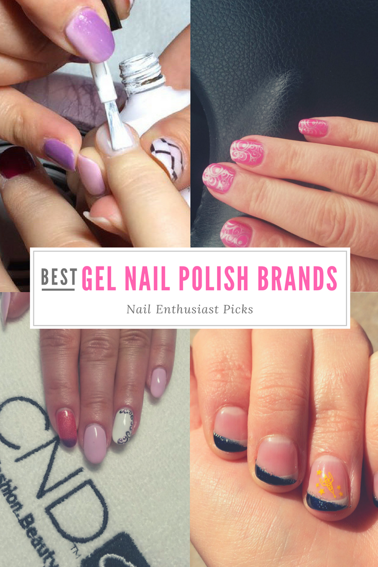 Best Gel Nail Polish Brands